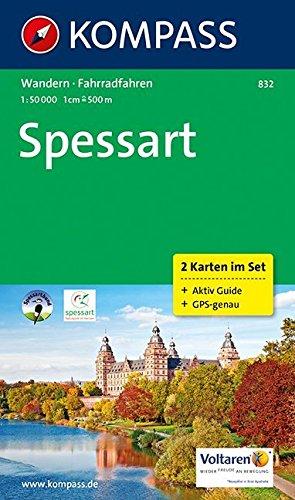 SPESSART 832  1/50.000 (2 CARTES) par Collectif