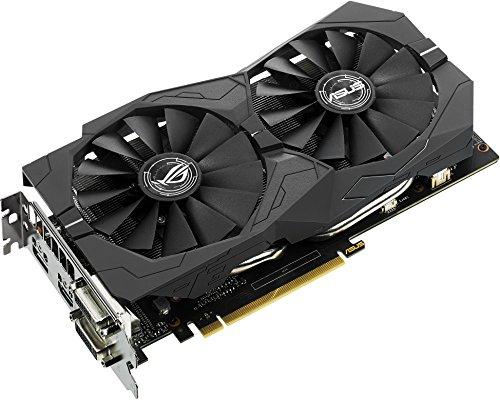 Asus Nvidia Geforce Strix-gtx1050ti-4g-gaming 4 Gb Gddr5 128 Bit Memory Hdmidpdvi Pci Express 3 Graphics Card - Black