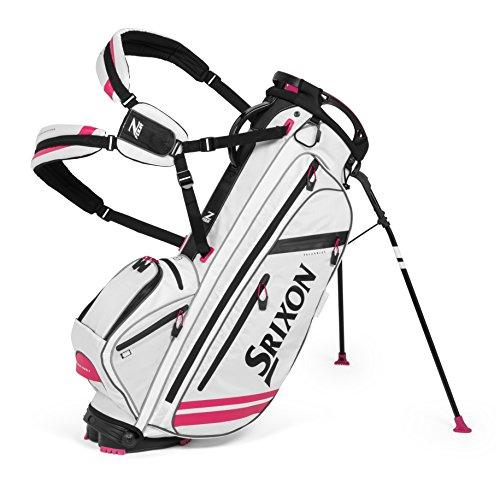 Srixon Golf z-four Stand Bag, weiß/pink (Golf Cleveland Bag)