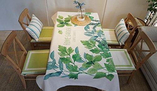 JFFFFWI Tisch Couchtisch Abdeckung Abdeckung Handtuch Handtuch Tischdecke Blended Sitzung Baumwolle und Leinen (Farbe: #3, Größe: 140 * 230 cm) (Oxford Blended)