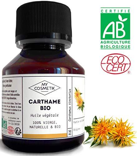 Aceite virgen de Cártamo orgánico - MyCosmetik - 10 ml