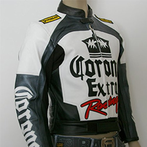 4LIMIT Sports Biker Motorradjacke Corona Lederjacke Motorrad Leder Jacke - 3