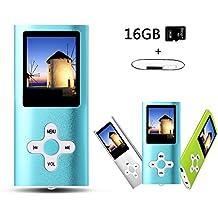 Btopllc 16GB Tarjeta de memoria Reproductores de MP3 MP4 Reproductores de m¨²sica Entrada de sonido Hi-Fi M¨²sica MP3 Players