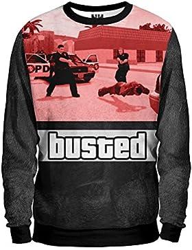 Noorhero - Felpa Uomo - GTA Grand Theft Auto Busted