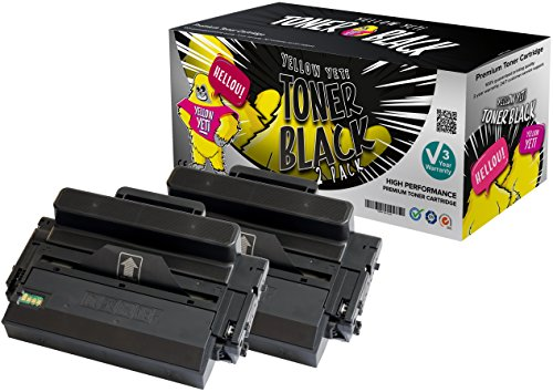 Yellow Yeti MLT-D203L (5000 pages) 2 Cartouches Toner compatibles pour Samsung ProXpress SL-M3320 M3320ND SL-M3370 SL-M3370FD SL-M3370FW SL-M3820 SL-M3820ND SL-M3820DW SL-M3870 SL-M3870FW SL-M4020 SL-M4020ND SL-M4070 SL-M4070FR [Garantie de 3 ans]