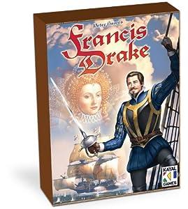 """Águila Juegos 646 734 - Juego de Estrategia """"Francis Drake"""" instrucciones en Inglés y alemán"""