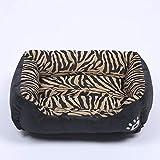 Hundebett | Sofa-Style Couch Pet Plüsch-Chaise-Bettmatratze für Hunde & Katzen - erhältlich in mehreren Farben und Stilen (Farbe : Tiger, größe : XL)