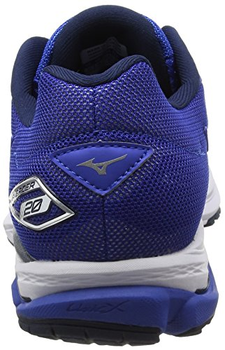 Mizuno Synchro Mx 2, Chaussures de Running Entrainement Homme Bleu (Nautical Blue/white/dress Blues)