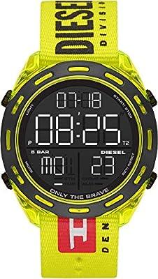 Diesel Reloj Hombre de Digital con Correa en Nailon DZ1895