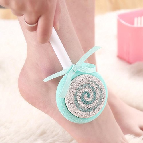 TAOtTAO 1PCS New America Foot Skin Foot Clean Scruber Hard Skin Remover Pedicure Brush (B)