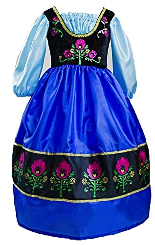 Little Adventures Traditional Scandinavian Princess Girls Costume - X-Large (7-9 Yrs) by Little Adventures