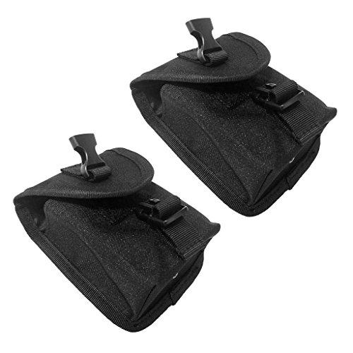 Sharplace 2x Escafandra Bolsillo de Cinturón Peso Buceo Accesorio de