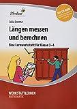 Längen messen und berechnen (Set): Grundschule, Mathematik, Klasse 3-4