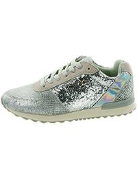 Beppi Damen Schuhe Modeschuhe mit Glitzer-Applikation, Grau, Größe: 39
