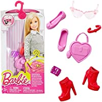 Barbie - Shoes, Handbags, Jewelry - Accessories Set for Barbie Doll
