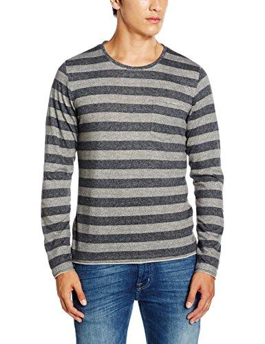 s.Oliver Herren T-Shirt Grau (blend grey 97G1)