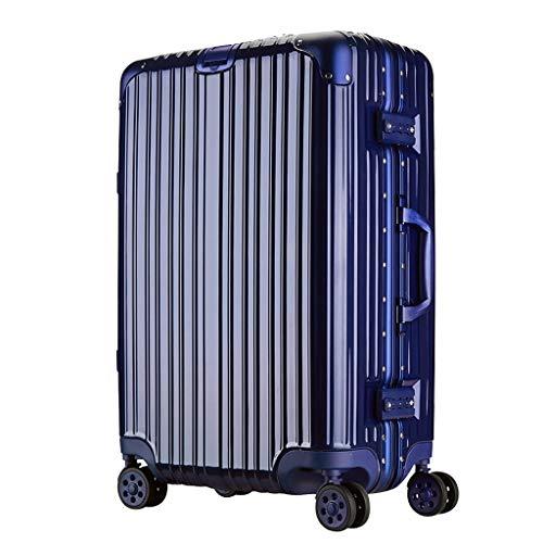 Rollende Laptop-Tasche, leichtes Gepäck beim Check-in Großer Koffer, 4 Räder, Reisetasche aus ABS-Hartschale, mit TSA-Verschluss (28 Zoll, 74 cm, 5,3 kg) -