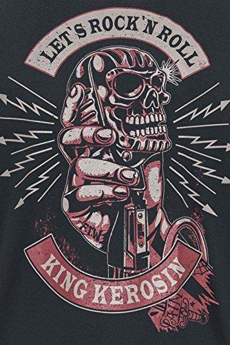 King Kerosin Devils Talk T-Shirt schwarz Schwarz