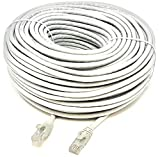 Mr. Tronic 30 Metros Cable de Red Ethernet Latiguillo 30m | CAT6, AWG24, CCA, UTP, RJ45 | Color Gris