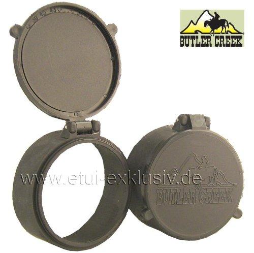 Objektivschutzkappe Zielfernrohr Schutzkappe Butler Creek, Flip Open, OBJ39, Ø 56,4mm, für Zeiss Victory 2,5-10x50 für Zeiss Victory 2,5-10x50