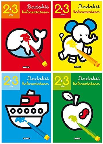 Badakit koloreztatzen - Libro para colorear por Taldeak Susaeta
