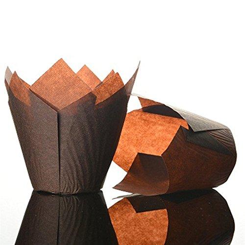 tulip-cupcake-muffin-envuelve-color-marrn-oscuro-pack-de-50