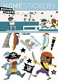 Kinder Wandtattoo Piraten