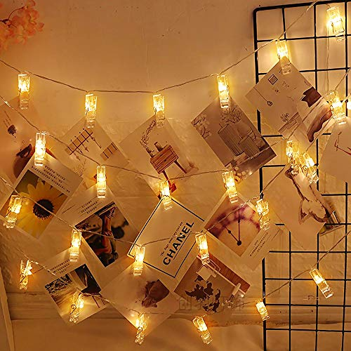 LED Fotoclip Lichterkette