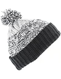 The Hat Company Men's Fred knitted Bobble / Beanie Hat