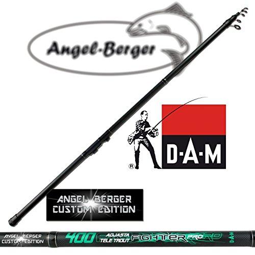 DAM Tele Trout Forellenrute Sbirulinorute 4m 2-20g Angel Berger Custom Edition