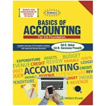 Padhuka's Basics of Accounting: For CA Foundation