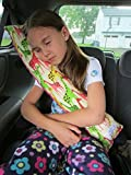 #1: TRAVEL PILLOW FOR KIDS IN CAR,SLEEPING PILLOW MEDIUM SIZE FROM FLOWER BABY