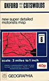 Oxford and the Cotswolds Map (Super Motorist's Maps S.)