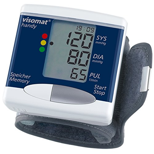 visomat handy - Blutdruckmessgerät Handgelenk, validierte Messgenauigkeit, Hersteller mit über 40 Jahren Erfahrung in der Blutdruckmessung