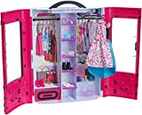 Barbie-DMT57 Fab Fashion Closet Guardaroba alla Moda con Abiti e Accessori, 3 Anni+, Multicolore, DMT57