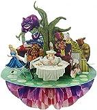 Santoro 3D Pirouette Greeting Card - Alice in Wonderland