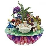 Santoro 3D-Pirouette-Carte de v?ux-Alice au Pays des merveilles