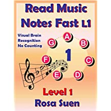 Read Music Notes Fast Level 1 - My Unique Method - Read Music Notes like Names of People: Music Theory (English Edition)