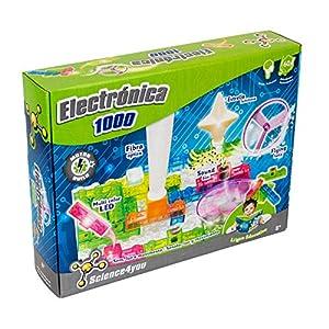 Science4you-Electronica 1000 Juguete científico y Educativo Stem (604506)