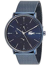 Lacoste Reloj Analógico para Hombre de Cuarzo con Correa en Acero Inoxidable 02011058