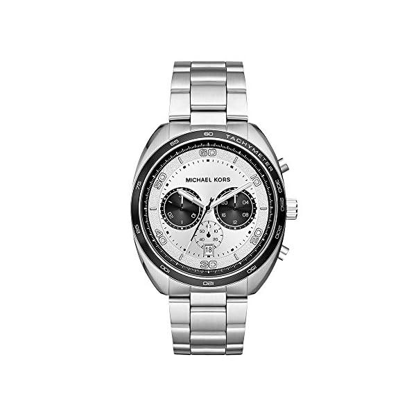 Michael Kors Relojes para hombre Dane acero inoxidable reloj