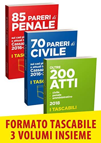 70 pareri di civile-85 pareri di penale-200 atti civile, penale, amministrativo
