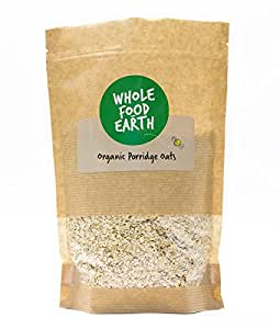 Wholefood Earth Organic Porridge Oats, 3 kg