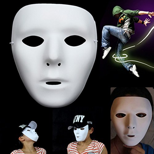 Ungfu Mall 1 PC Jabbawockeez Maske Halloween Ghost Dance Hip-hop Auftritte Masken Partei Kleid Maske (Jabbawockeez Maske)