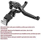 Motorrad Kupplung Bremshebel verstellbar, faltbar, ausziehbar für Ducati 749, 848, Streetfigter, 999, 1098, Diavel, Monster, Multistrada, Panigale
