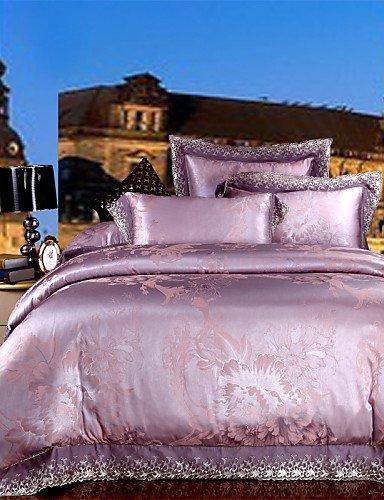 GAOHAIFQ®, quattro pezzi tuta,biancheria da letto di alta qualità dolce