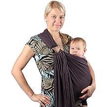 Écharpe de portage avec anneau d ajustement - Porte-bébé ventral ou dorsal  de 2d471532472