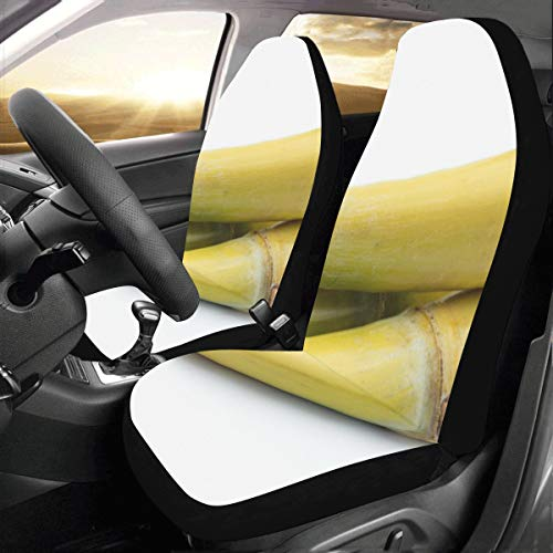 Price comparison product image Beautiful Fragrant Aloe Custom New Universal Fit Auto Drive Car Seat Covers Protector For Women Automobile Jeep Truck Suv Vehicle Full Set Accessories For Adult Baby (set Of 2 Front)