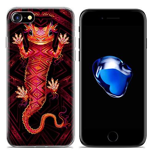 Easbuy Cute Animal Soft TPU Silicium Etui Étui Housse Coque Pour iPhone 7 Anti-Scratch Silicone Silikon Cover Silicon Case Mode 2