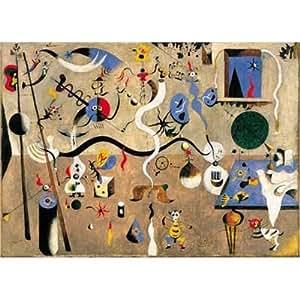 "International Publishing 5801N16053A- Artstones ""MIRO' CARNAVAL D'ARLEQUIN  1924-1925"" 1000 Teile Puzzle"